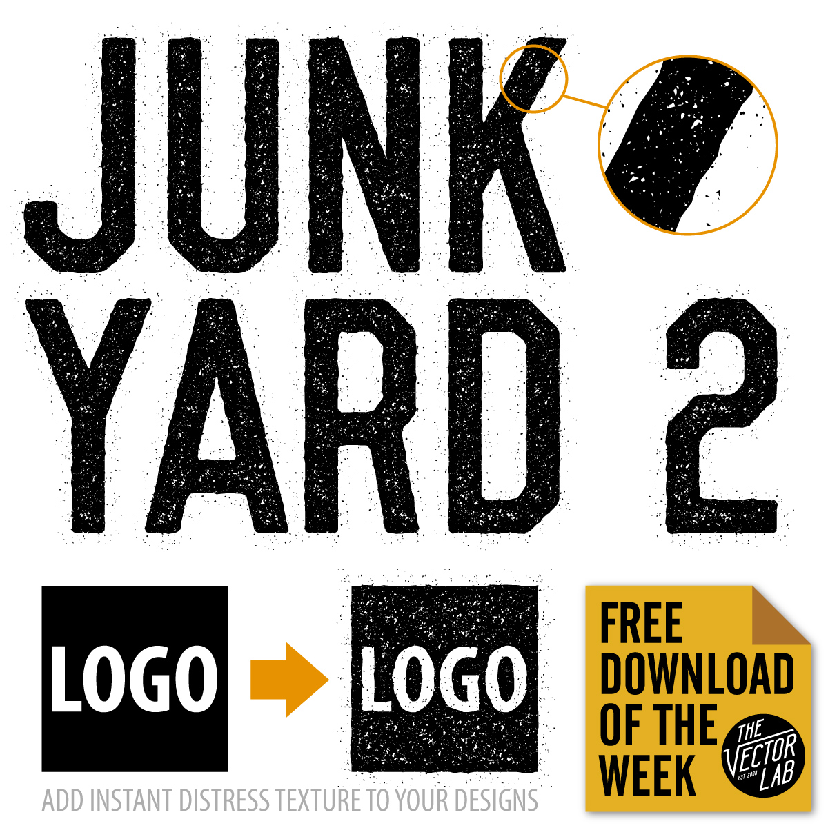 Junk Yard Graphic Style for Illustrator