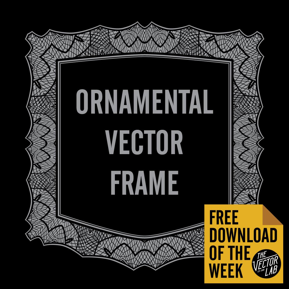 Ornamental-Vector-Frame