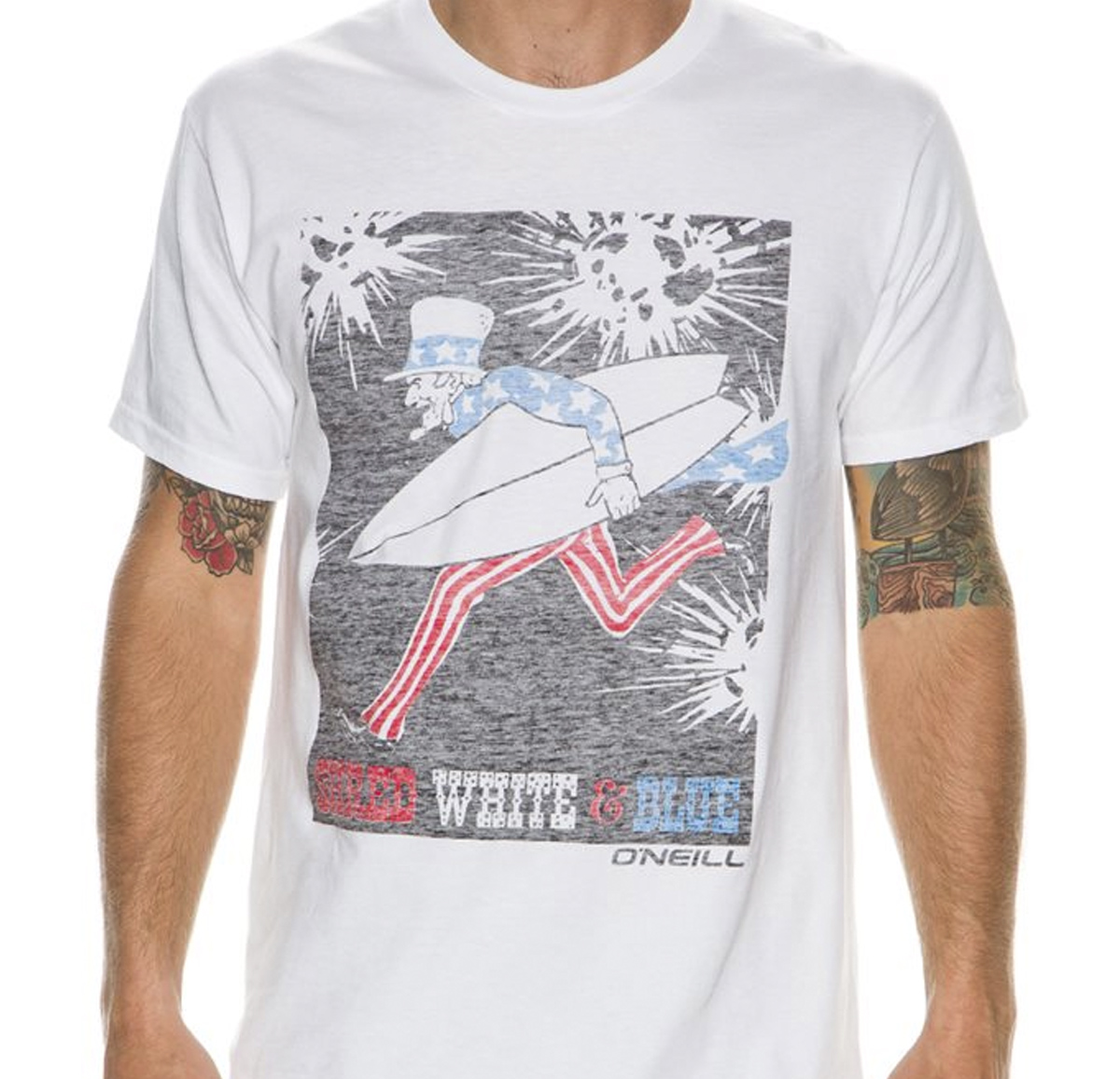 Reverse print t-shirt