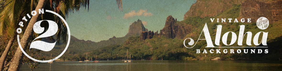 Vintage Aloha Backgrounds