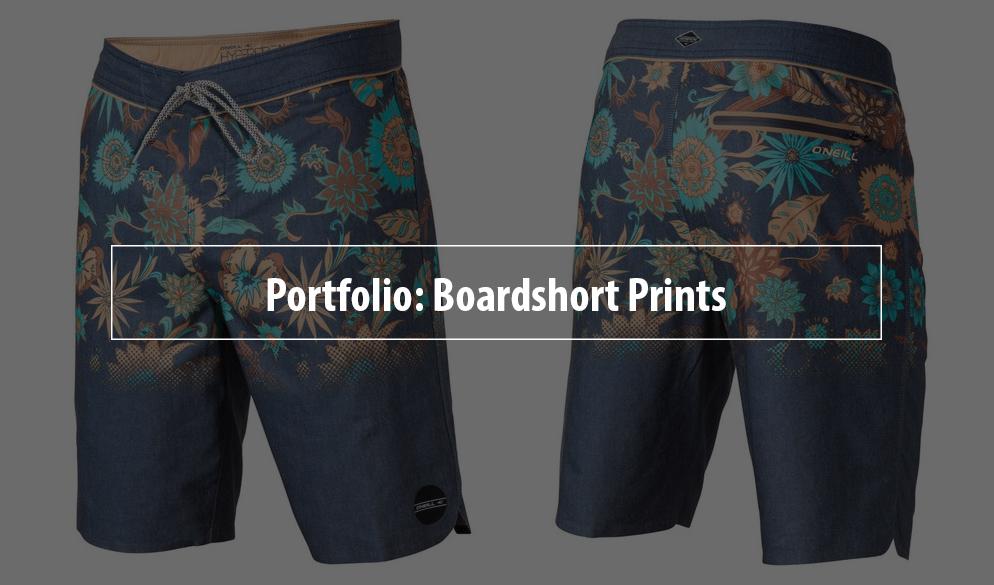 Surfing Boardshort Prints