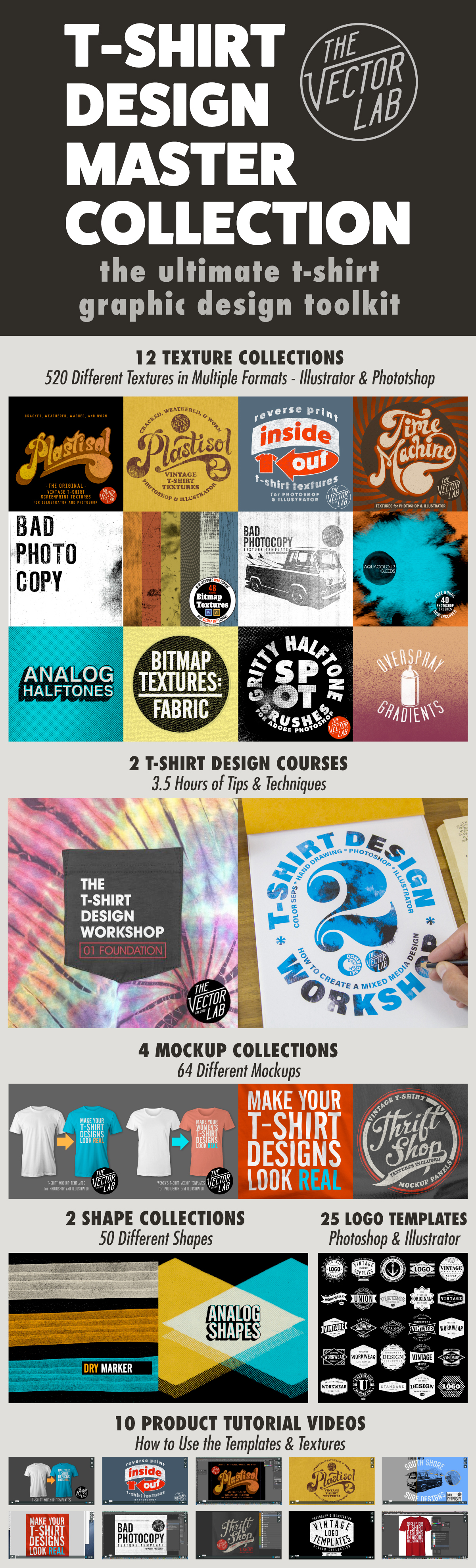 T-Shirt Design Master Collection