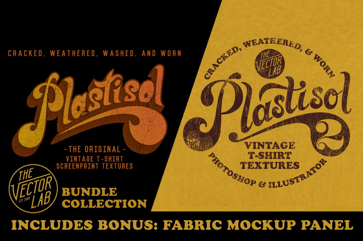 Plastisol T-Shirt Textures Bundle