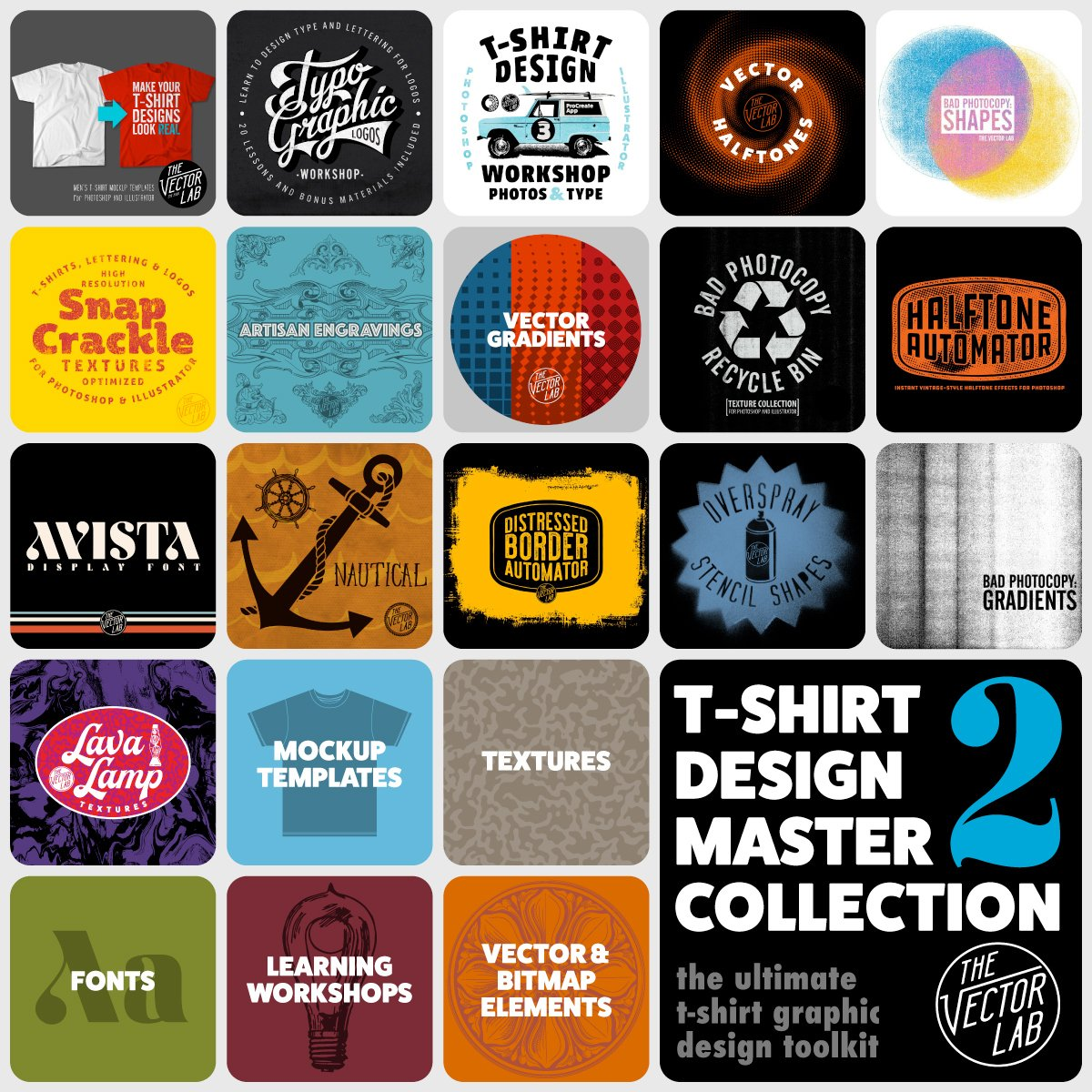 T-Shirt Design Master Collection 2