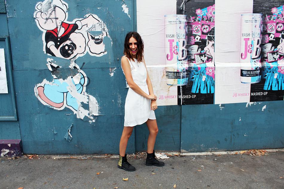 Wish dress / Big W ( DIY'D ) boots / Lovisa watch