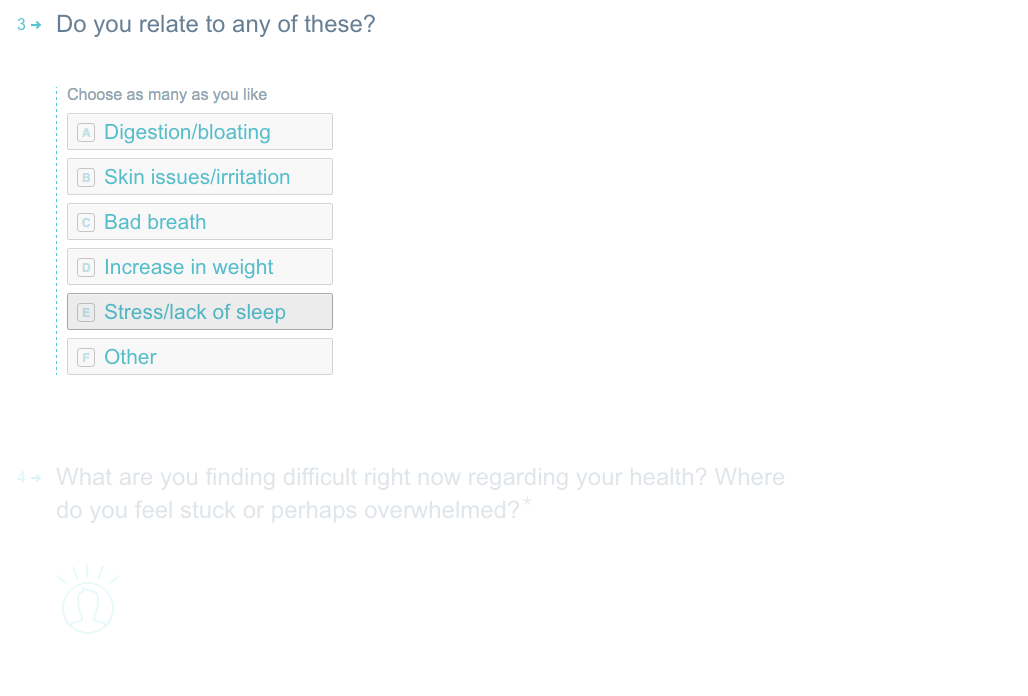 Typeform customer survey