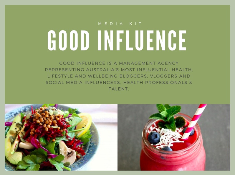 Good Influence Media Kit