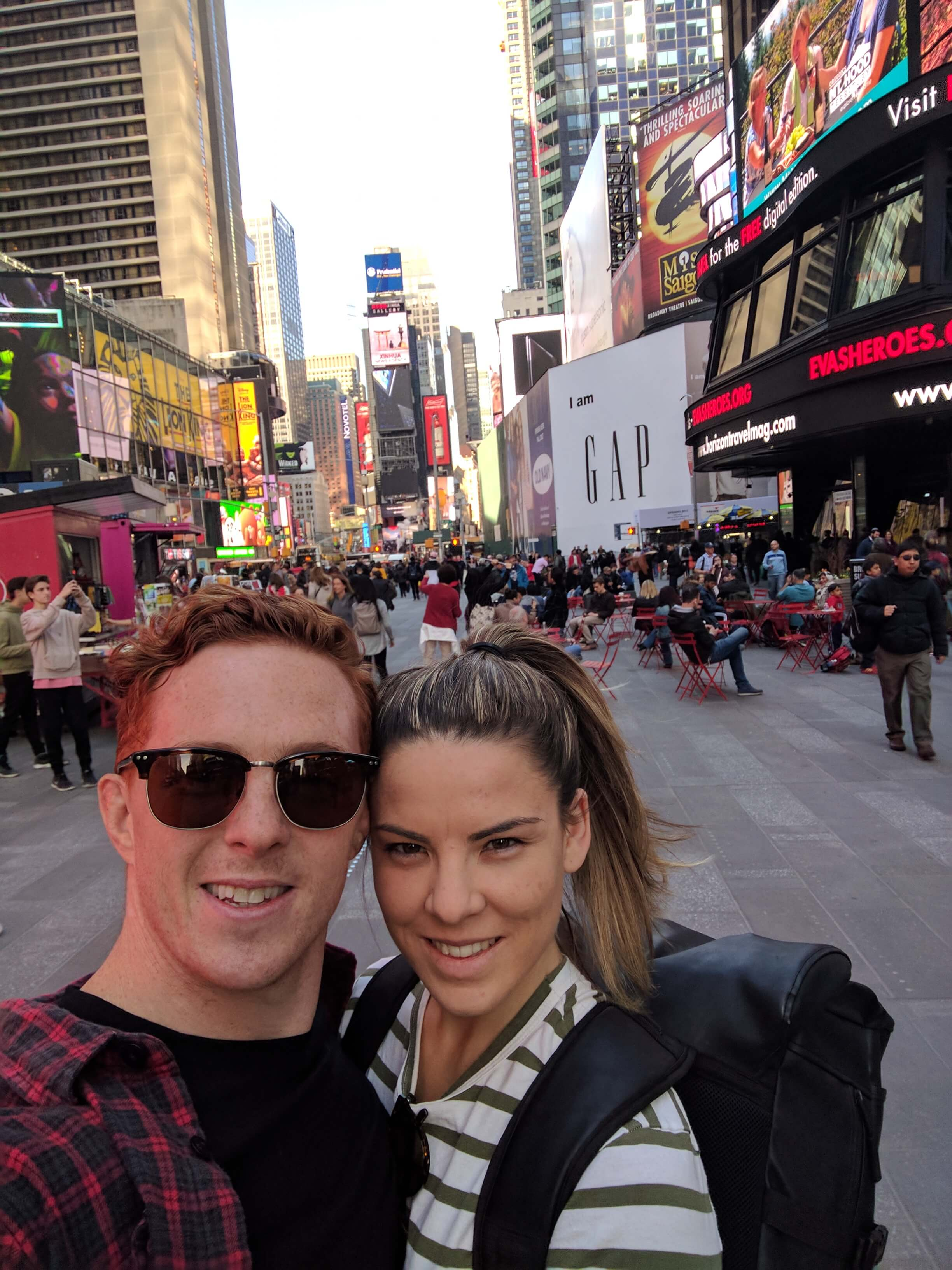 Times Square Berleena & Nick