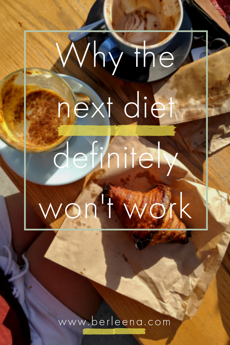 How to stop dieting