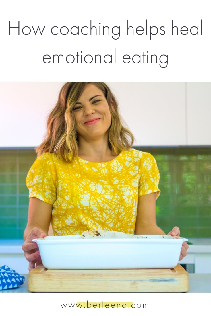 How coaching helps heal emotional eating