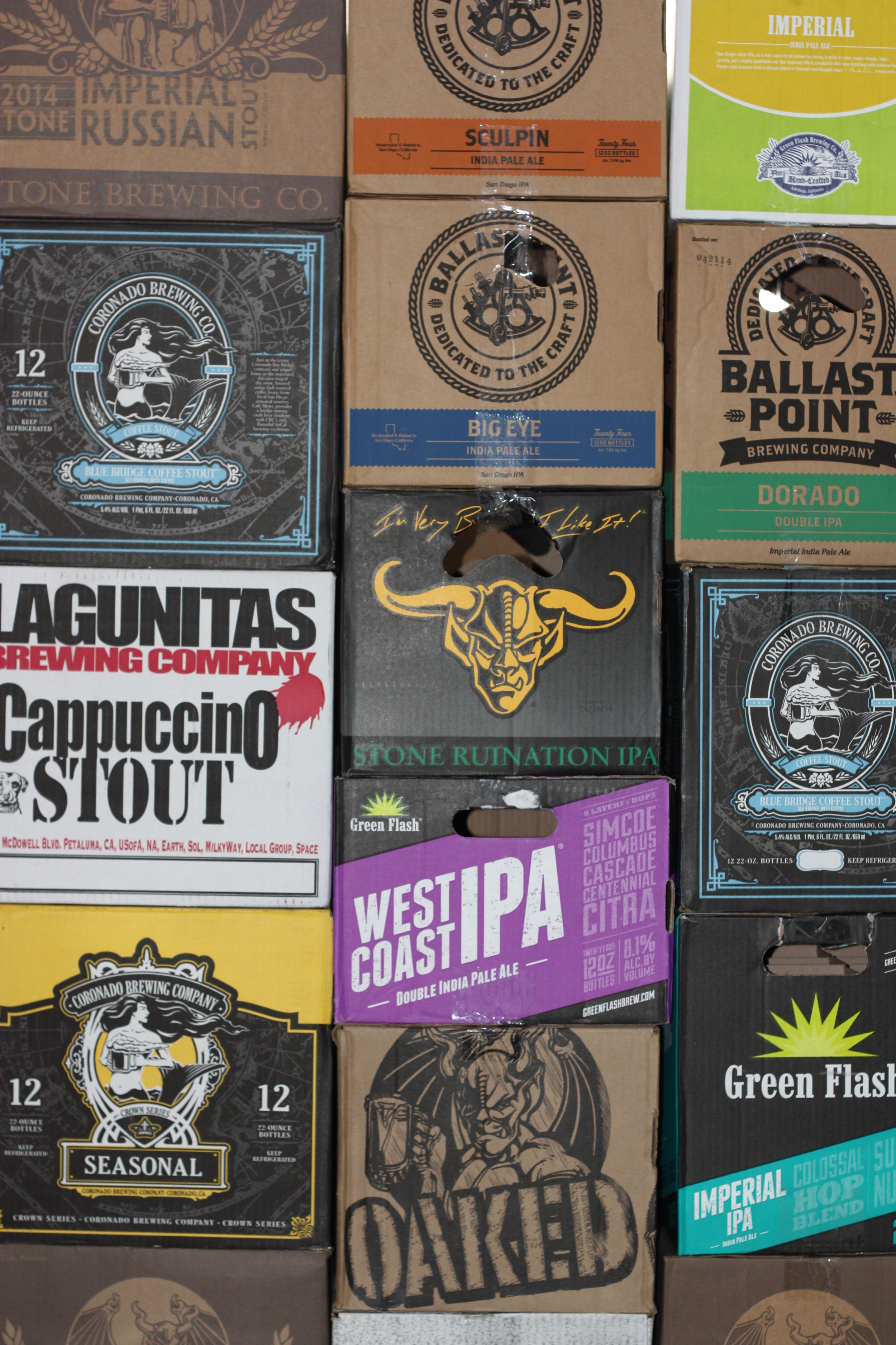 Some of the great beers you will find inside Antenna America