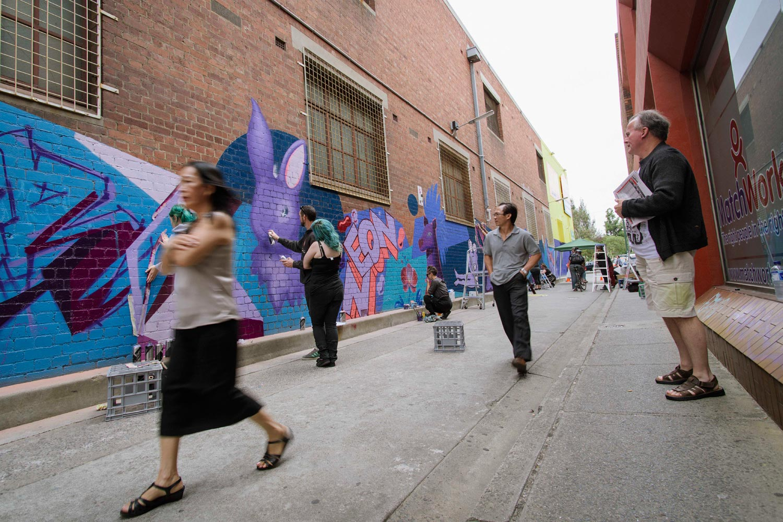Creative Pathways in  Footscray