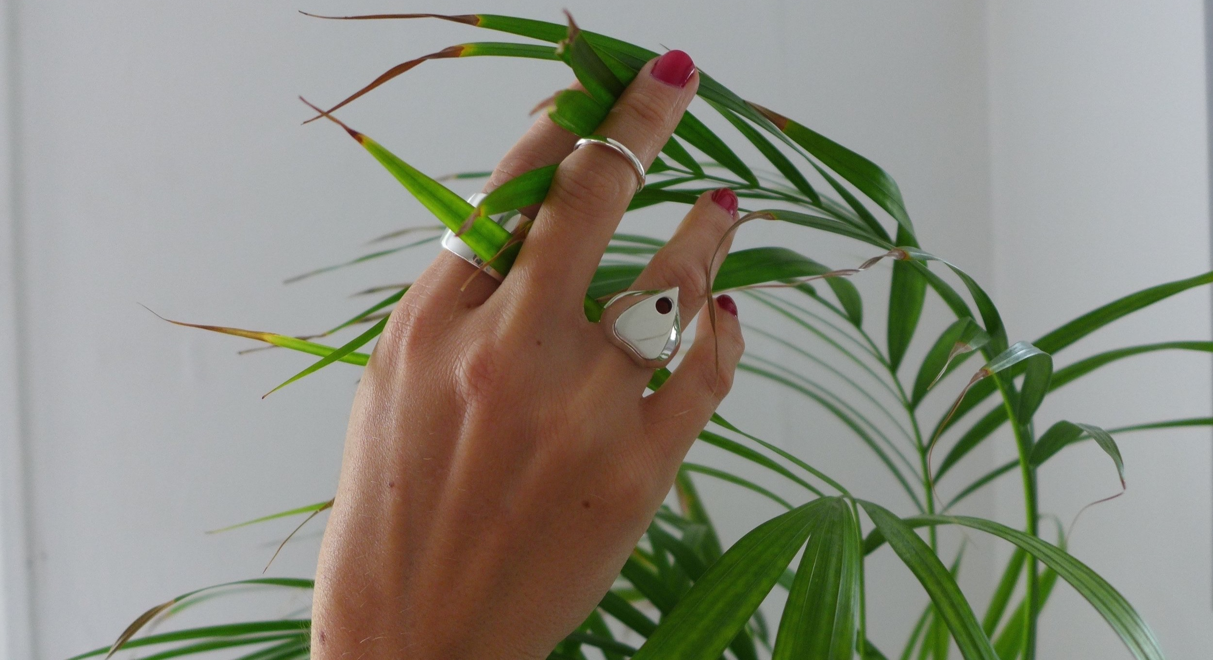 Jewellery that is a celebration of the beautiful materials used to make it. -
