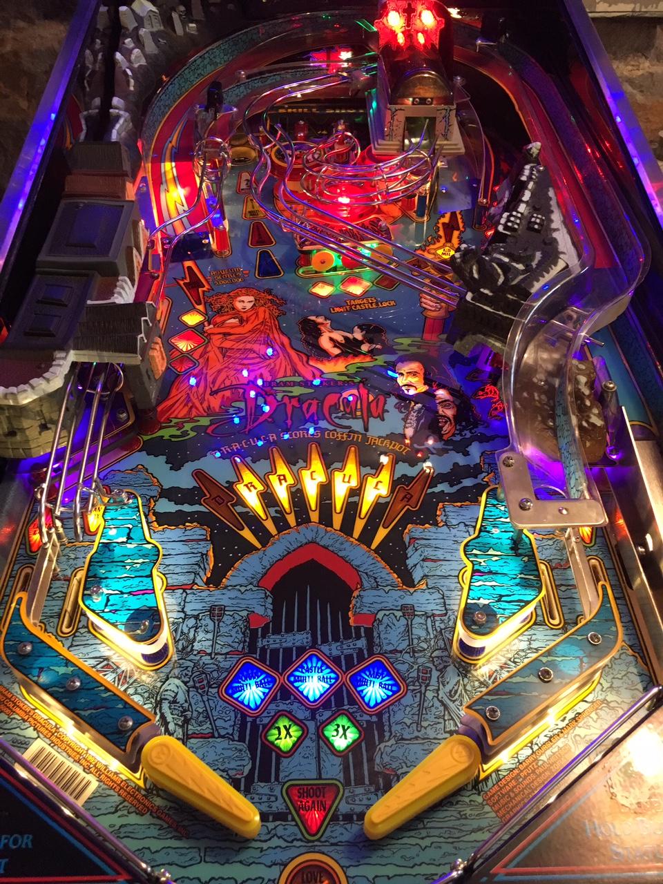 i finish my restoration of a different pinball machine.