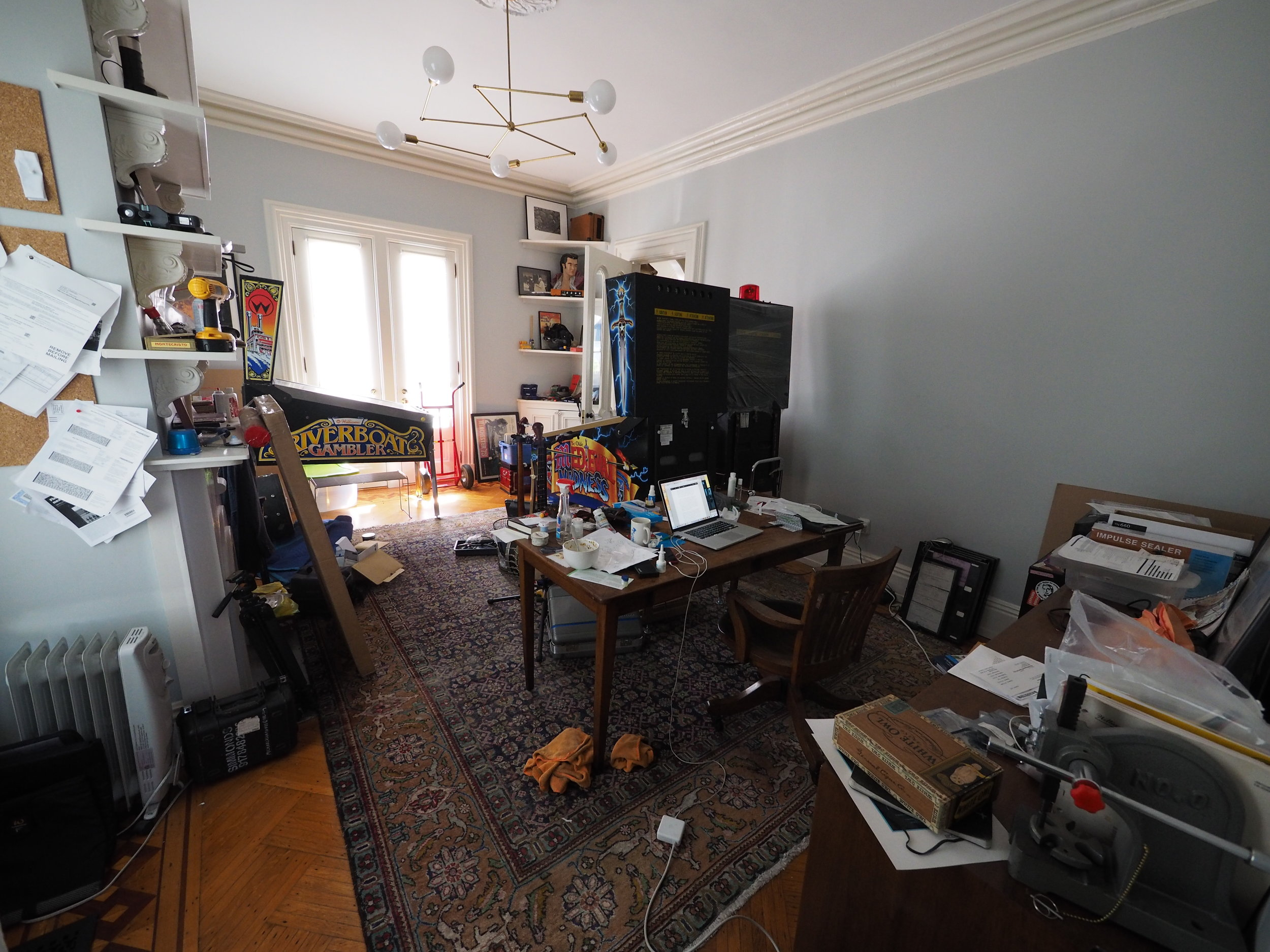 many attempts have been made to declutter this office, and all have failed.