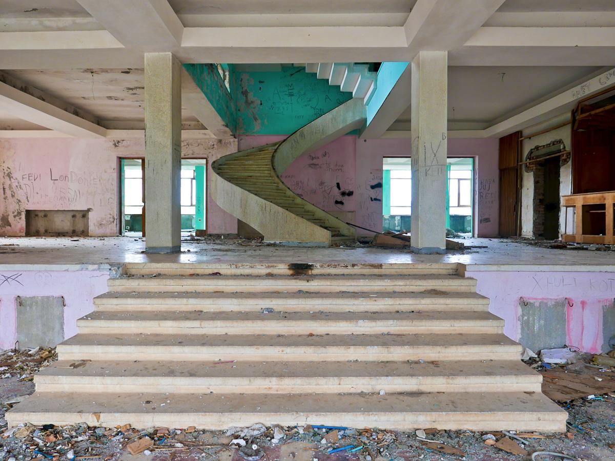 ©alketamisja photography, Lobby Old Hotel, Kukës Albania 2015