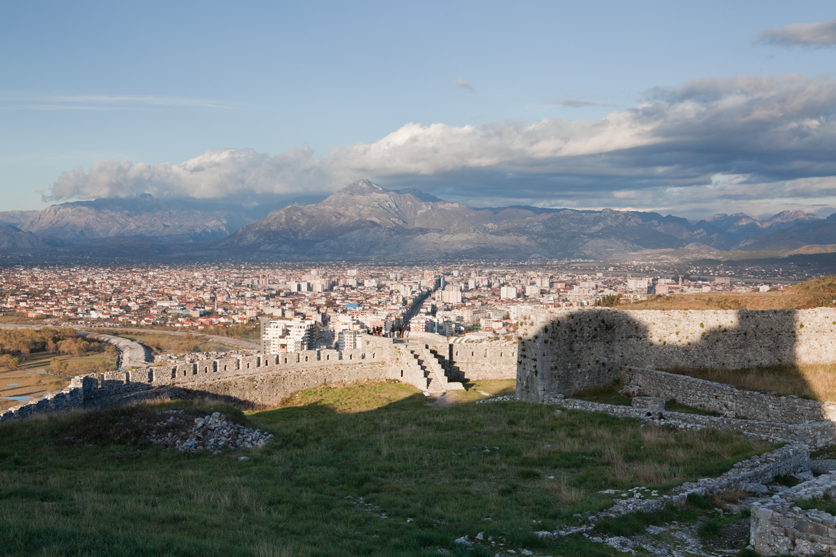 The View of Shkodra from Rozafa Castle, ©alketamisja photography, November 2015