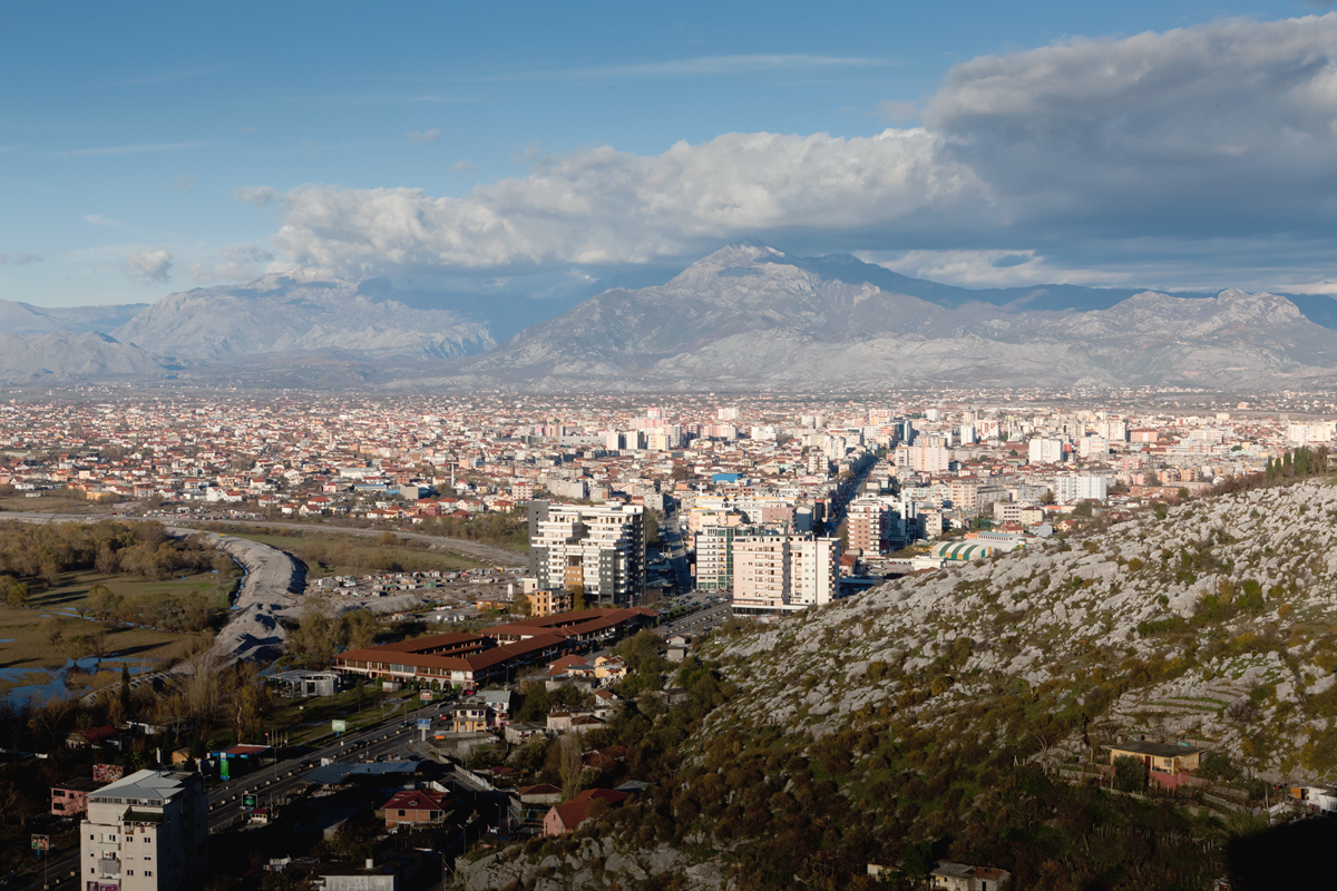 The View of Shkodra from Rozafa Castle, ©alketa misja photography, november 2015