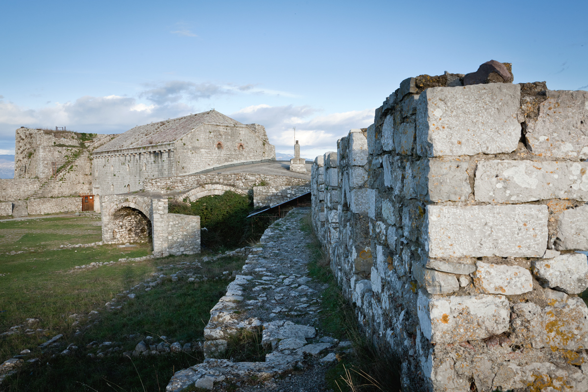The Third yard, Rozafa Castle, © alketa misja photography, november 2015