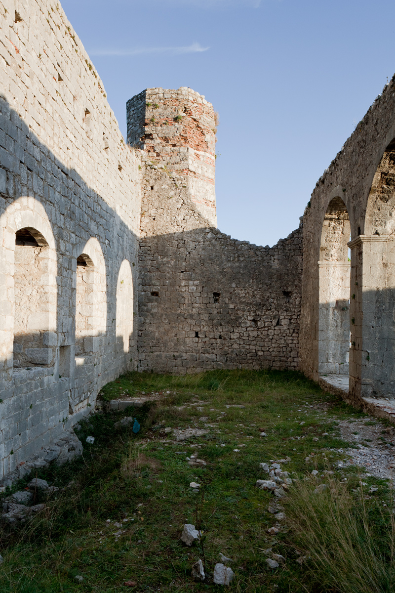 the Church, Rozafa Castle Shkodra, Albania ©alketamisja photography, november 2015
