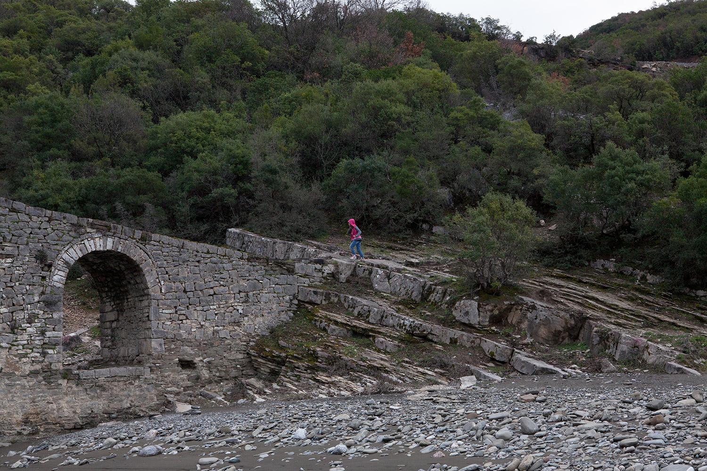 at Katiu Bridge, Benje Permet, Albania, alketamisja photography, 14 march 2016