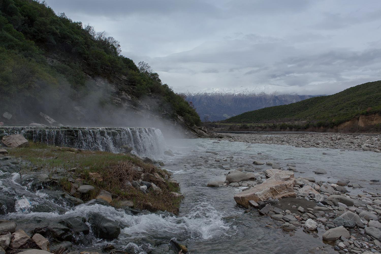 Thermal Waters of Benje, Permet Albania, alketamisja photography, 14 march 2016