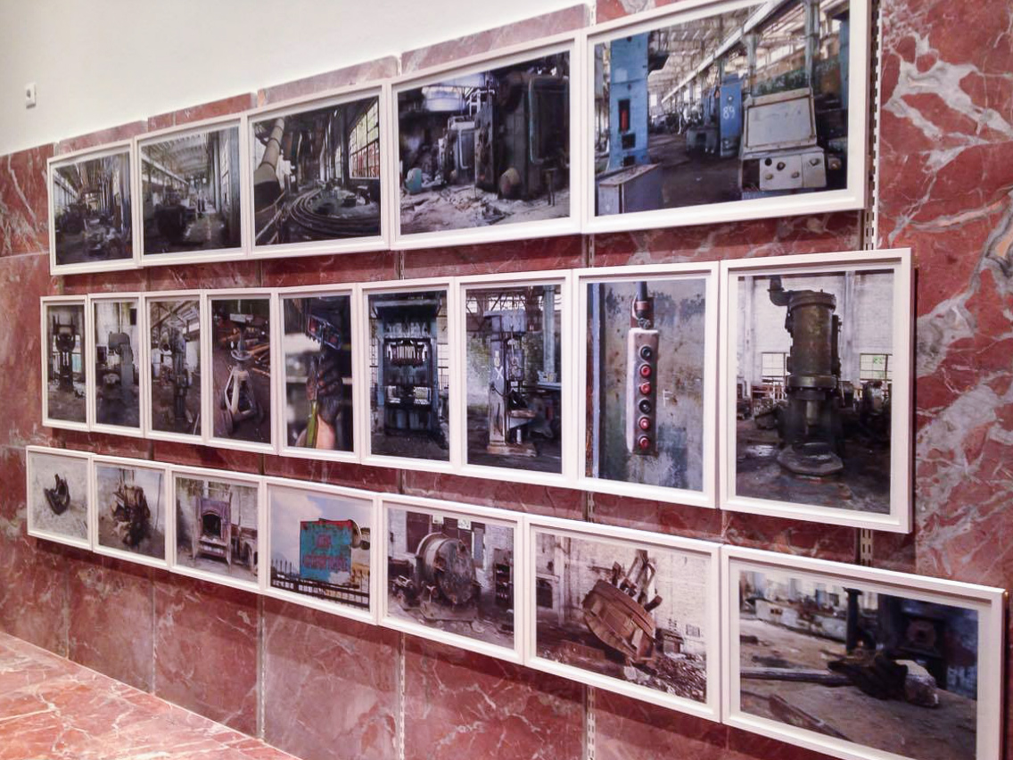 ARTIFACT PROJECT Volume 1, Ex-Automobile Plant of Tirana, Exhibition  20 may - 30 september 2016,  MINILAB, COD Centre for Openness and Dialog,  Prime Minister's Building, Tirana