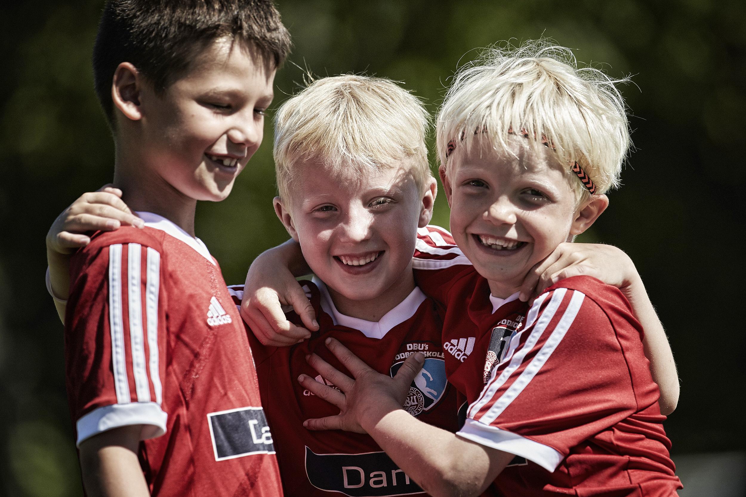 DBU Jylland  / DBU fodboldskole 2015 i Bangsbo Freja for første gang med 100 deltagere.
