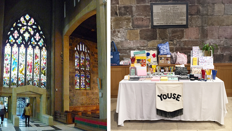 Youse at Sheffield Craft and Flea Pop Up in Sheffield Cathedral.jpg