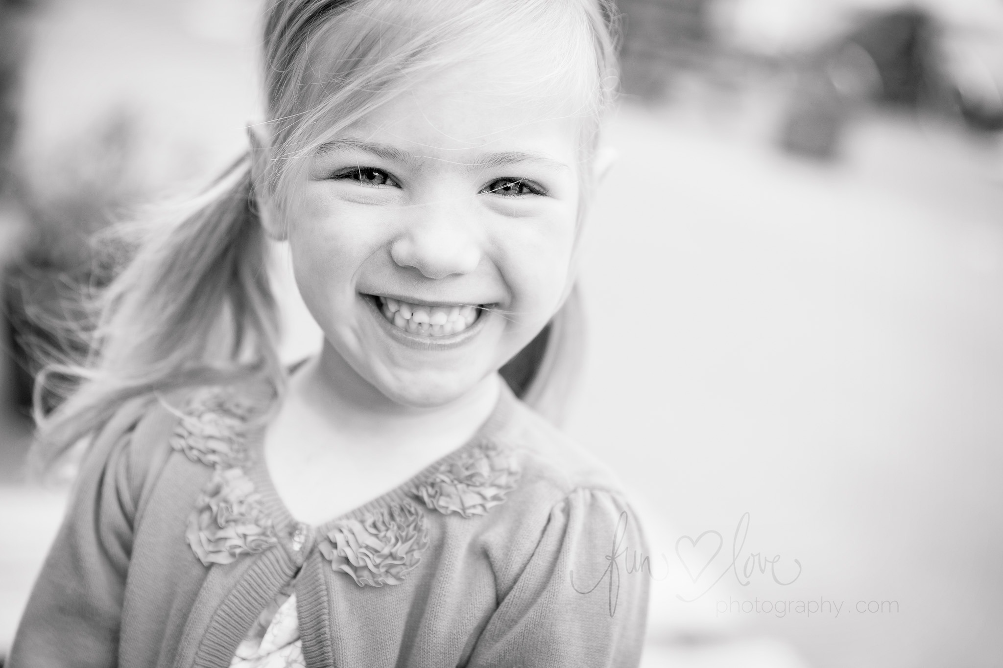 Natural Smile Child Photography