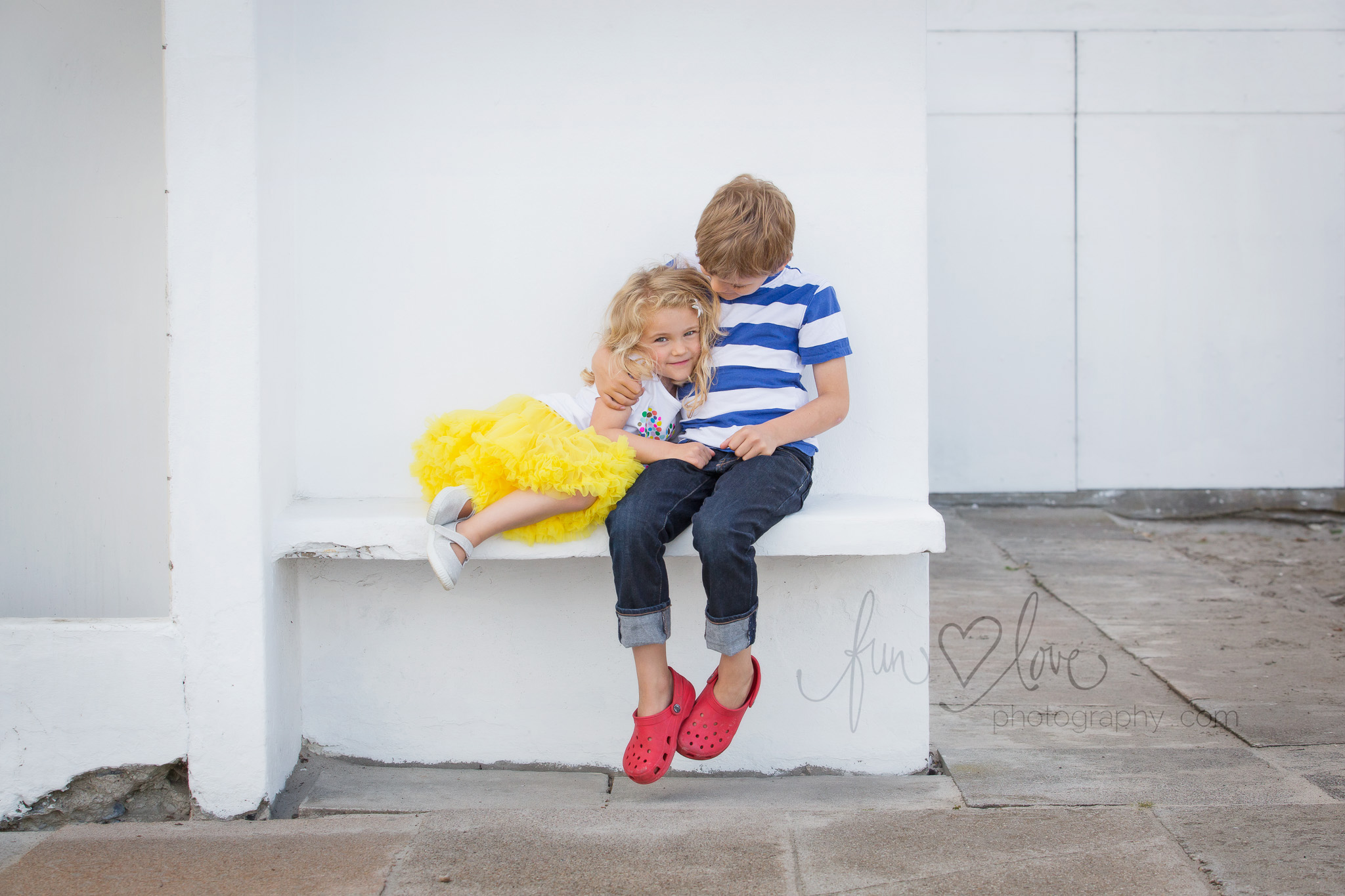 Brother And Sister Love Childrens Photography