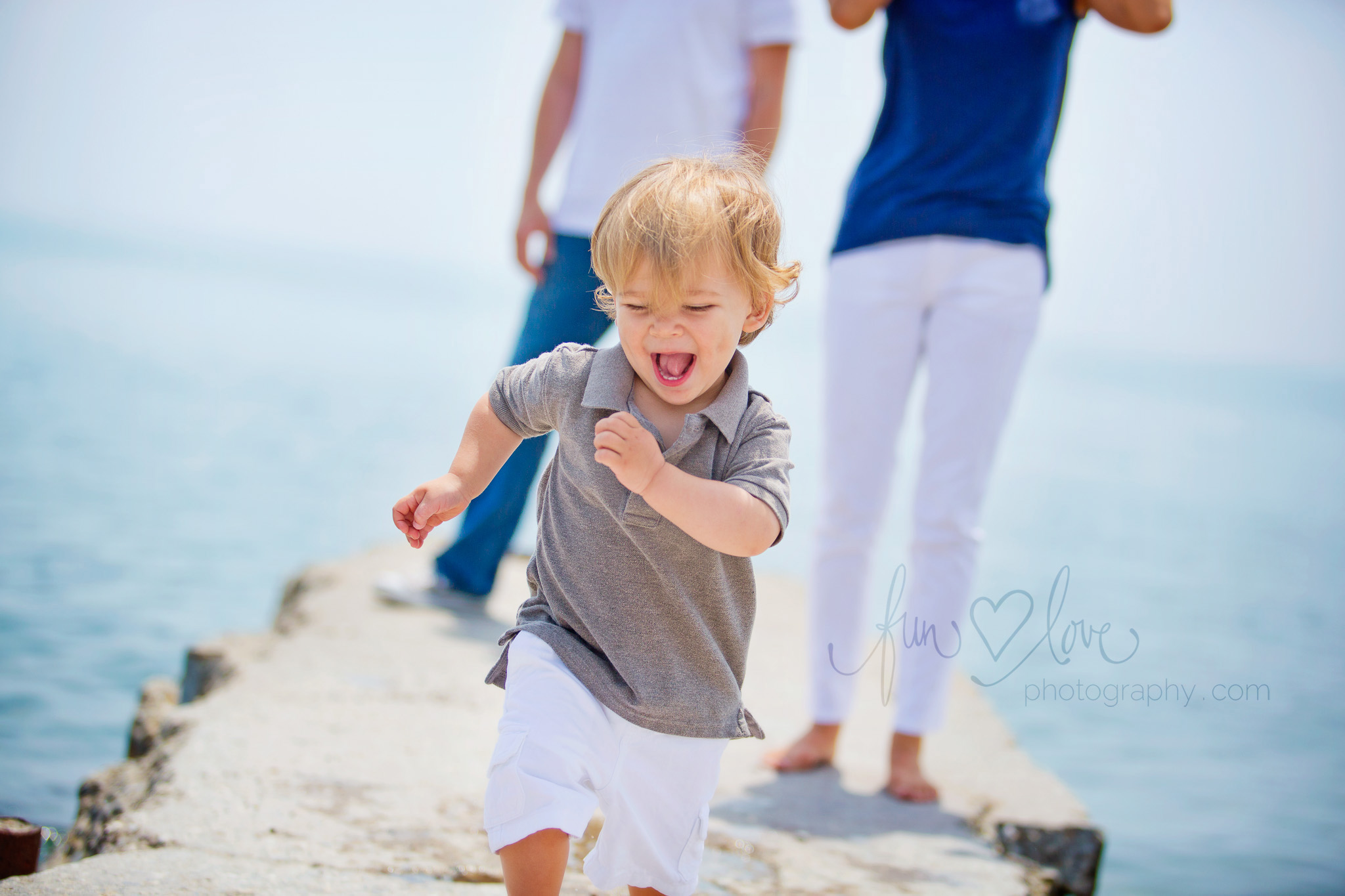 Adorable Boy Smiling Family Photography