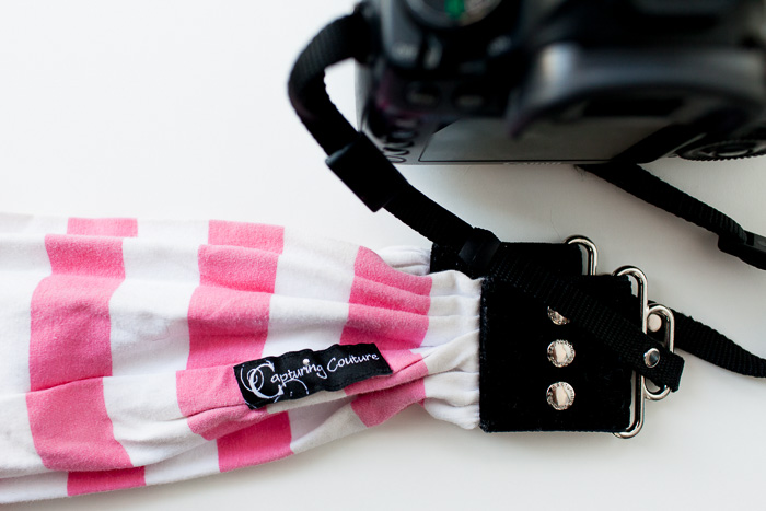capturing couture scarf camera strap
