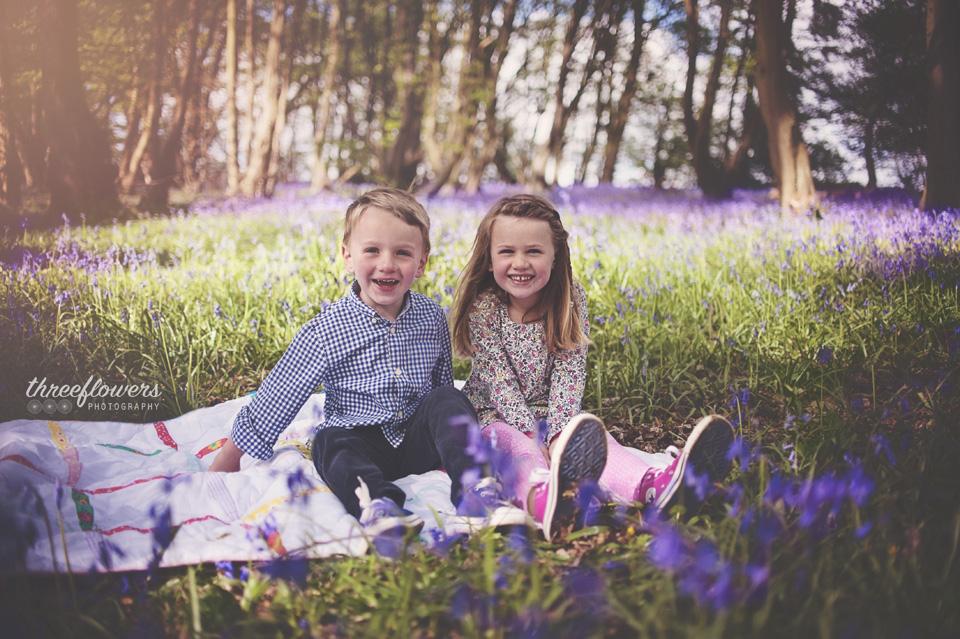 Three Flowers Photography Essex Lifestyle Photographer Bluebells
