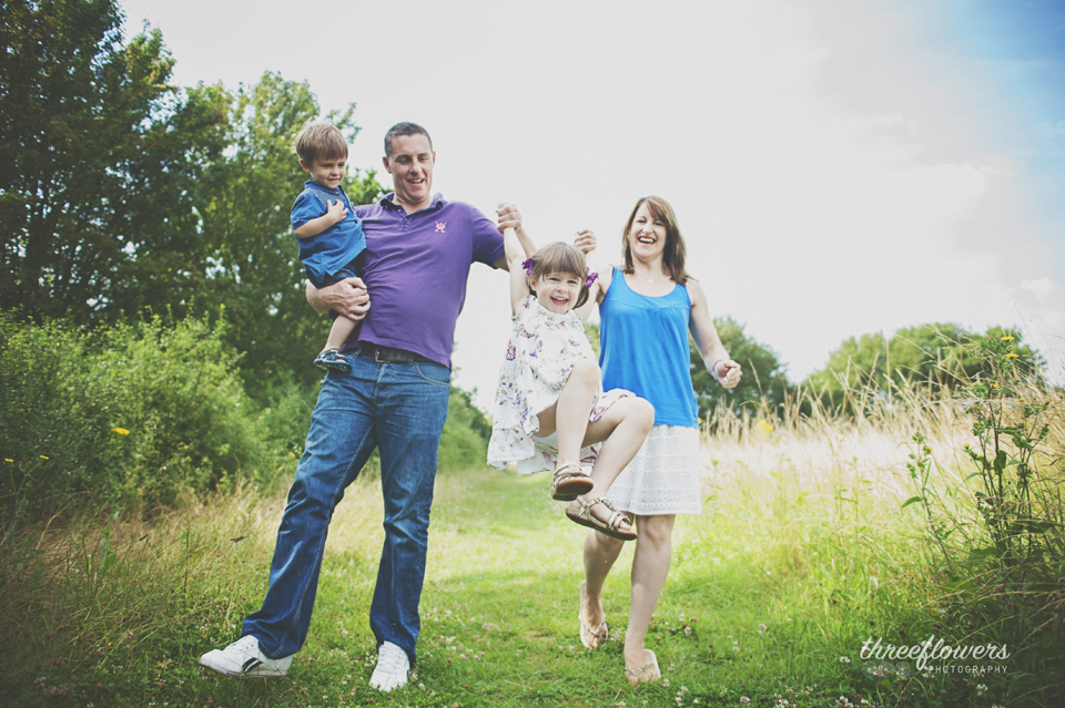 Three Flowers Photography Essex Lifestyle Photographer Summer Family Portrait