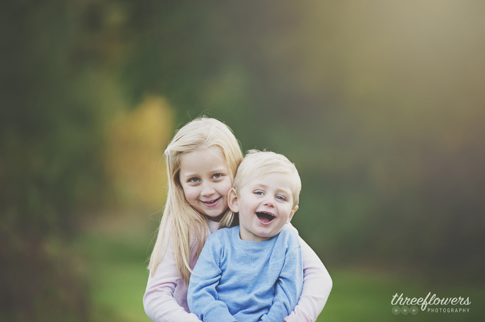 Three Flowers Photography Essex Lifestyle Photographer Summer Siblings Portrait