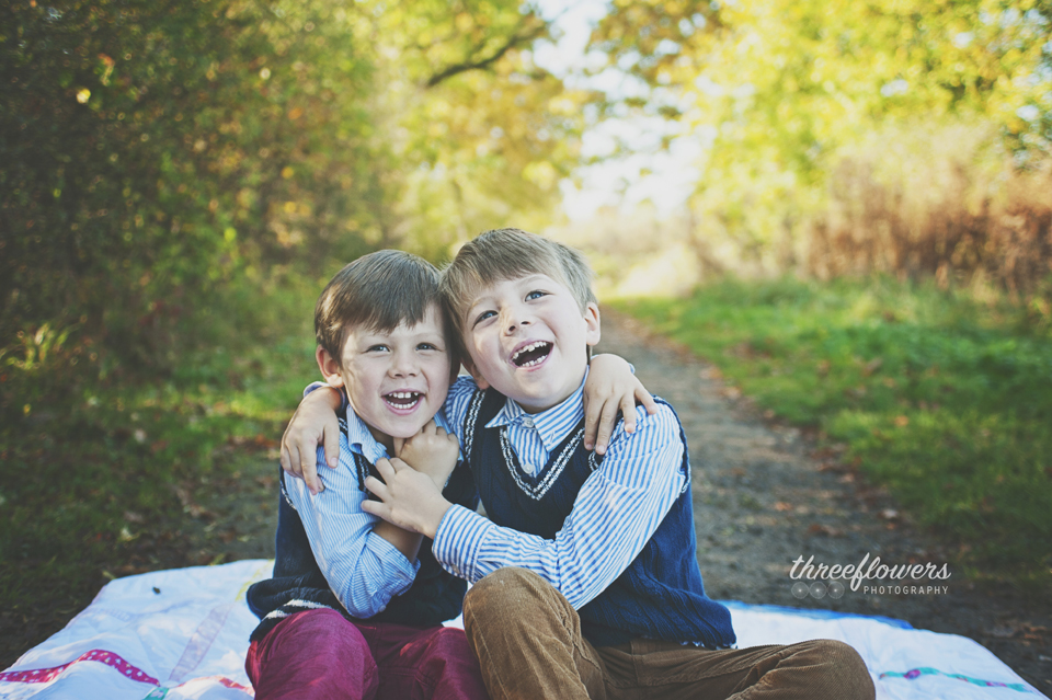 Three Flowers Photography Essex Lifestyle Photographer Autumn Brothers Portrait