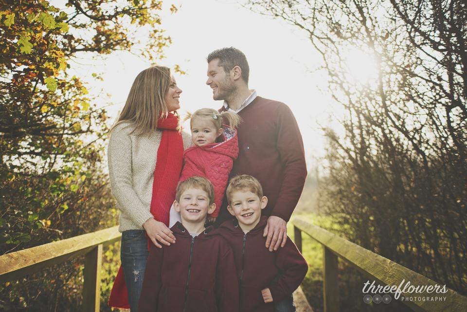 Three Flowers Photography Essex Lifestyle Photographer Family Autumn Portrait