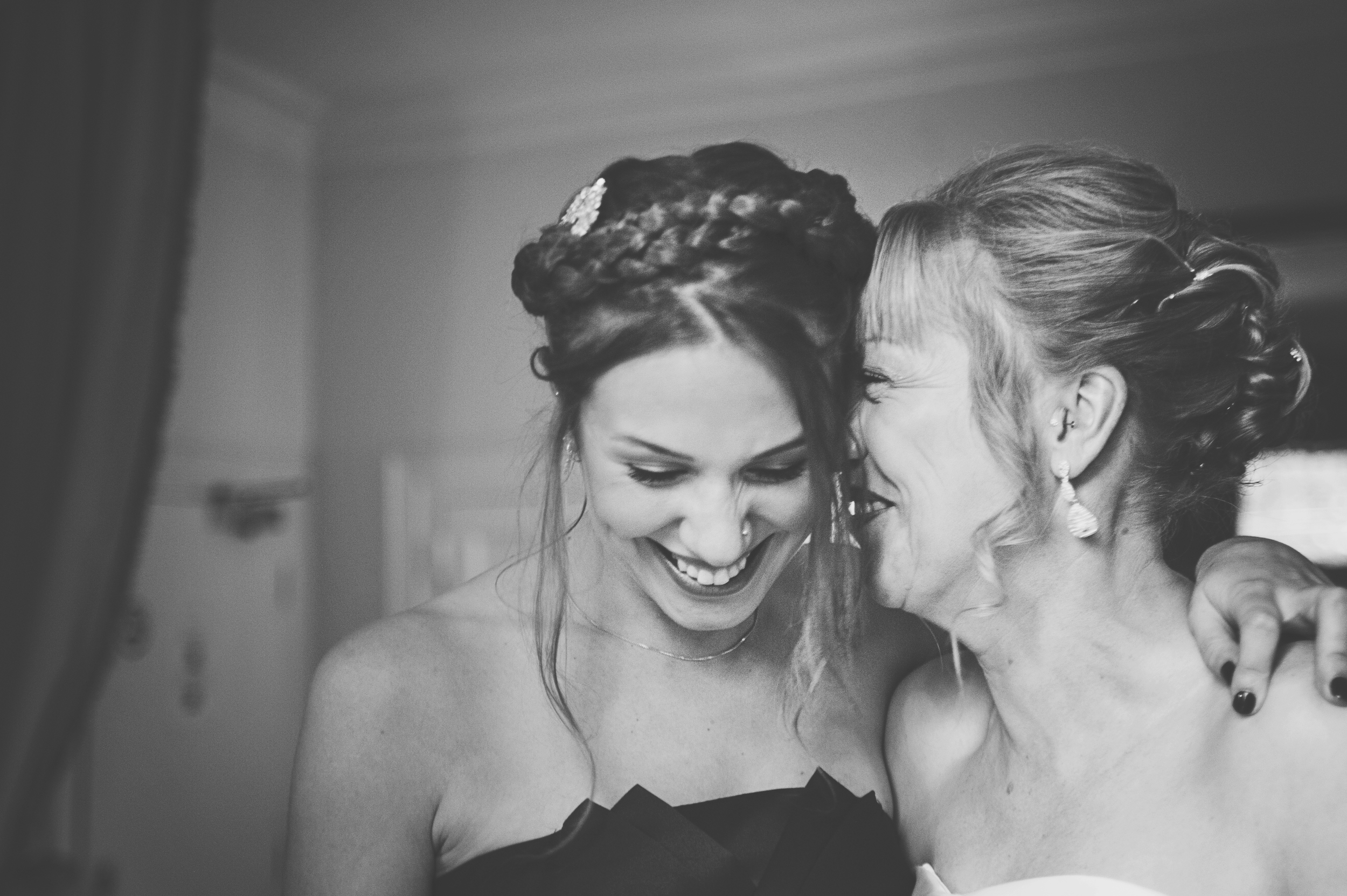 Three Flowers Photography Essex Wedding Bride and daughter