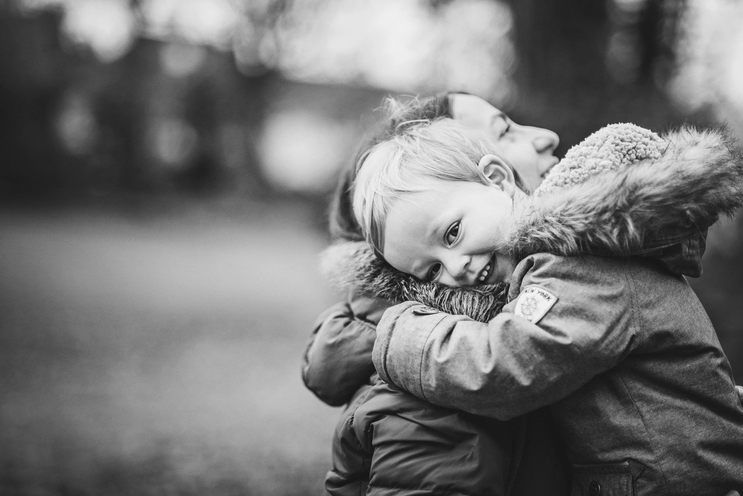 Young boy hugs his Mummy Essex Documentary and Lifestyle Portrait Photographer