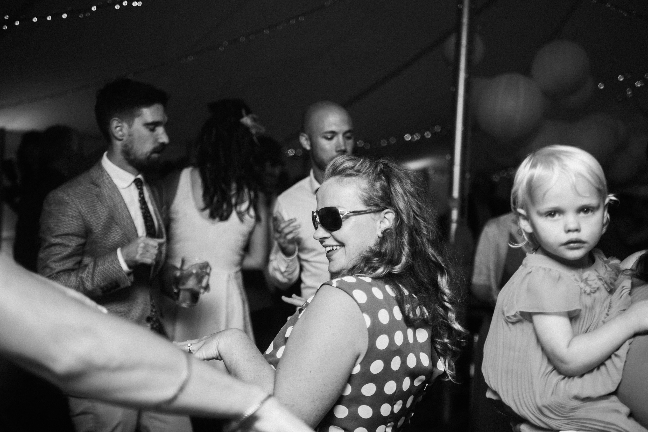 Guests on Dance Floor Cliff Barns Norfolk Essex UK Documentary Wedding Photographer