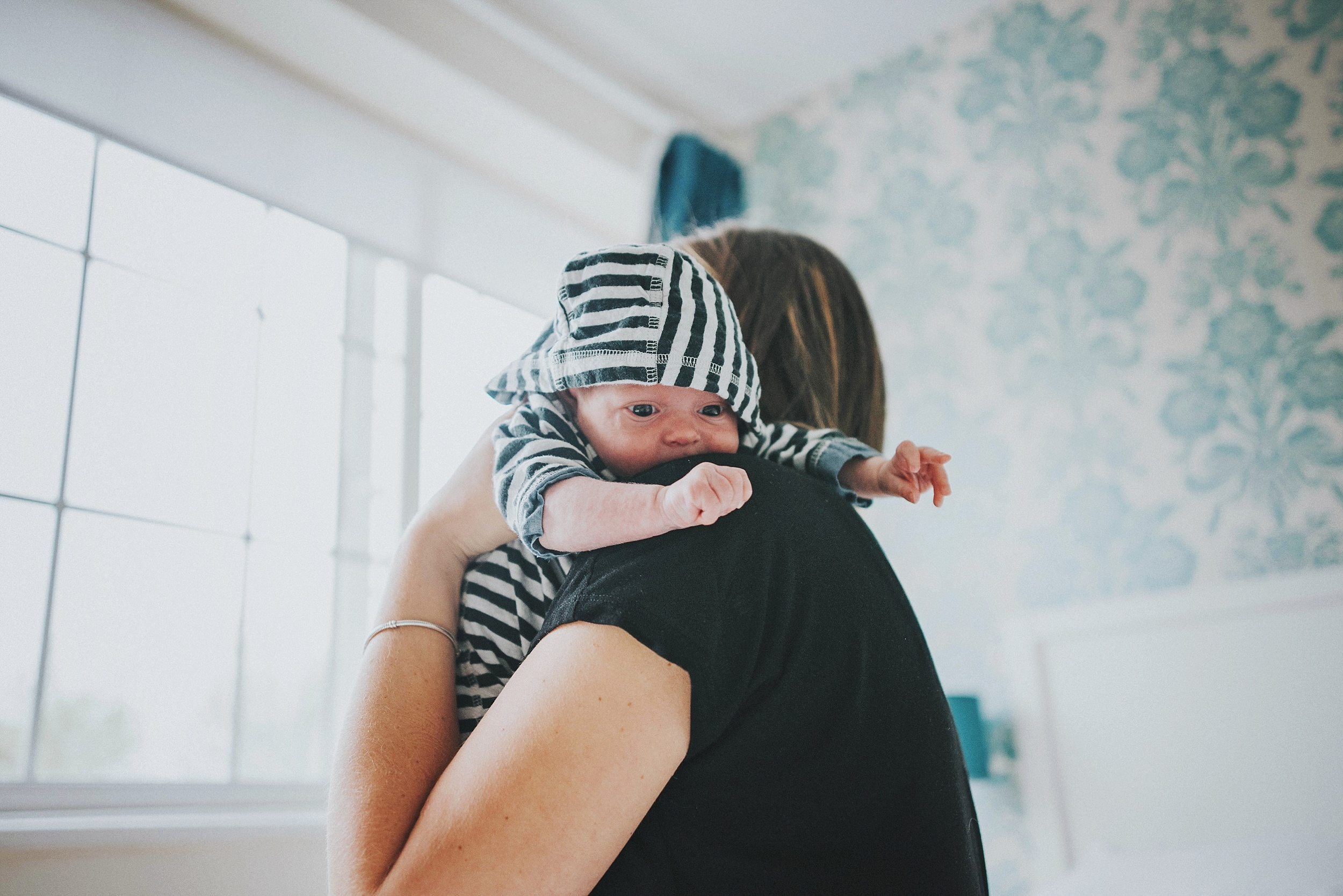 At Home Lifestyle Shoot Newborn Baby Essex UK Documentary Portrait and Lifestyle Photographer