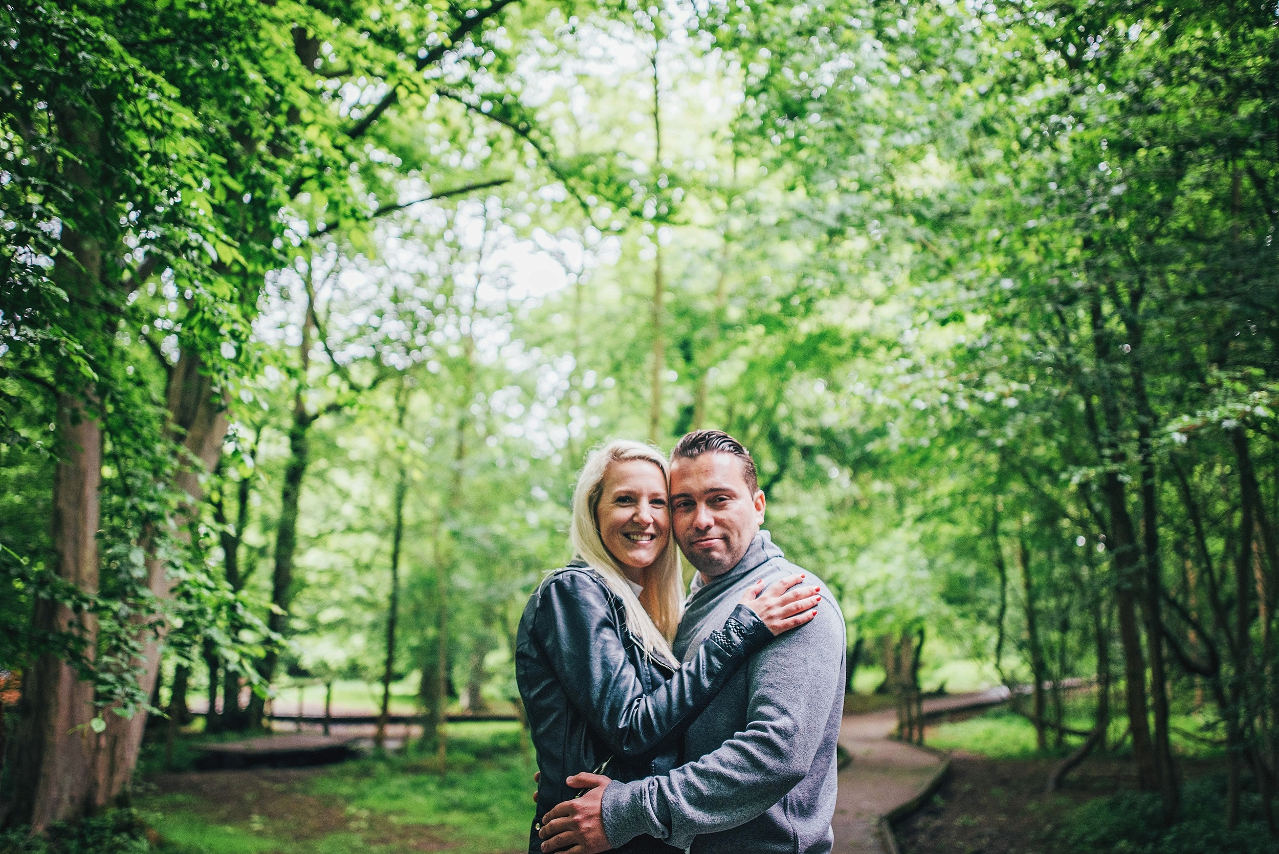 Love Shoot Couples Portraits Hatfield Forest Essex UK Documentary Portrait and Lifestyle Photographer