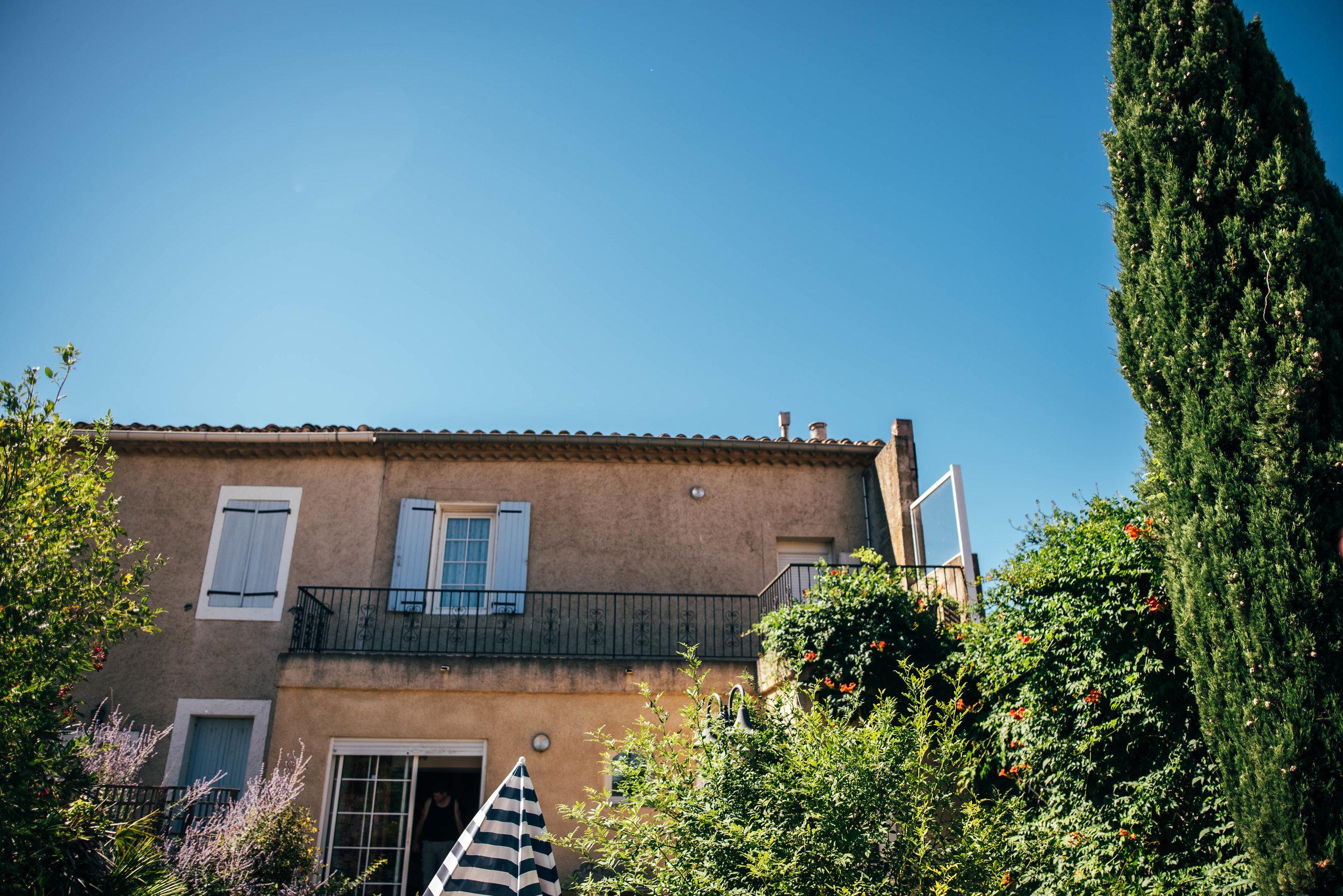 Country villa Carcassonne France Essex UK Documentary Photographer