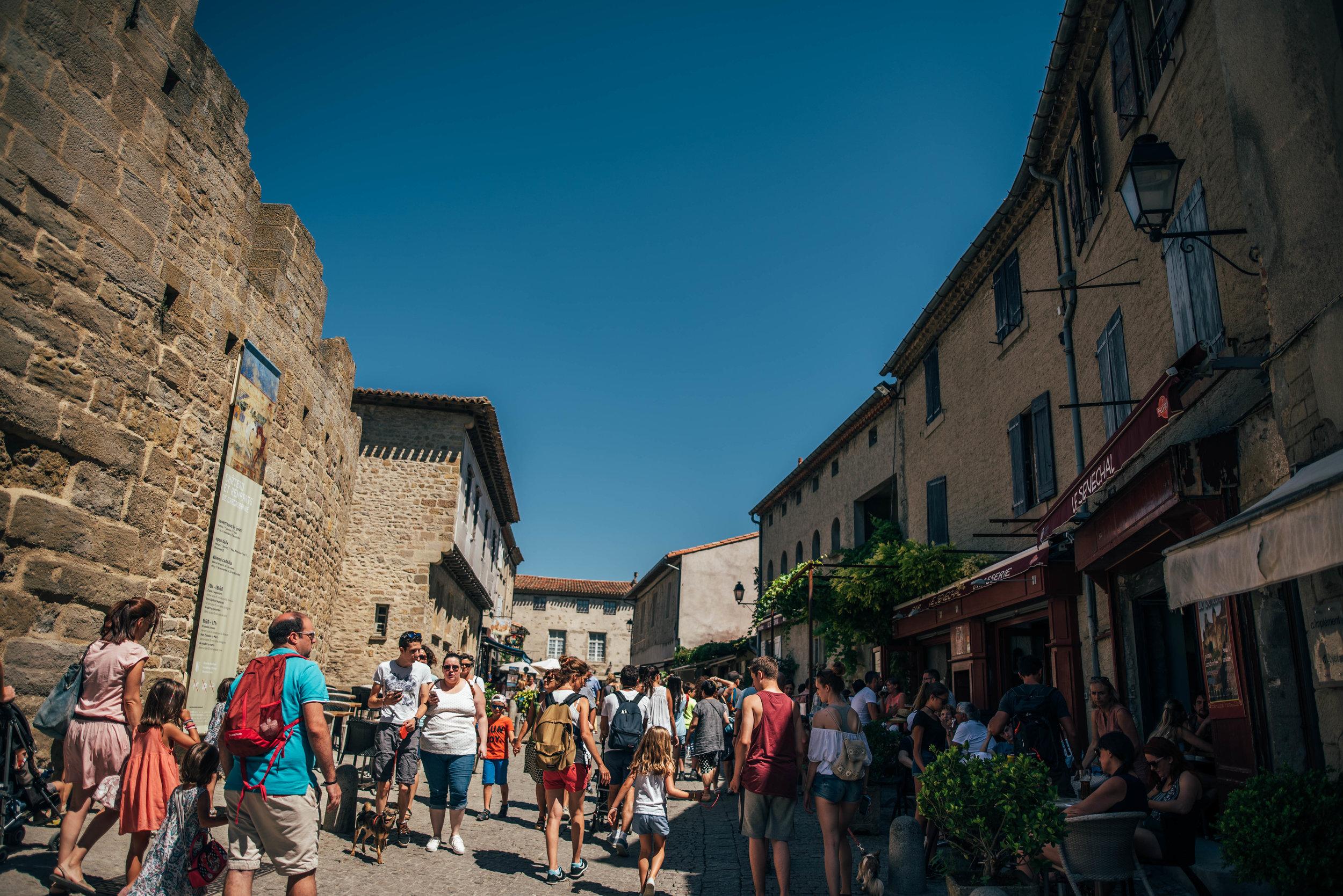 Carcassonne Citadel France UK Documentary Photographer