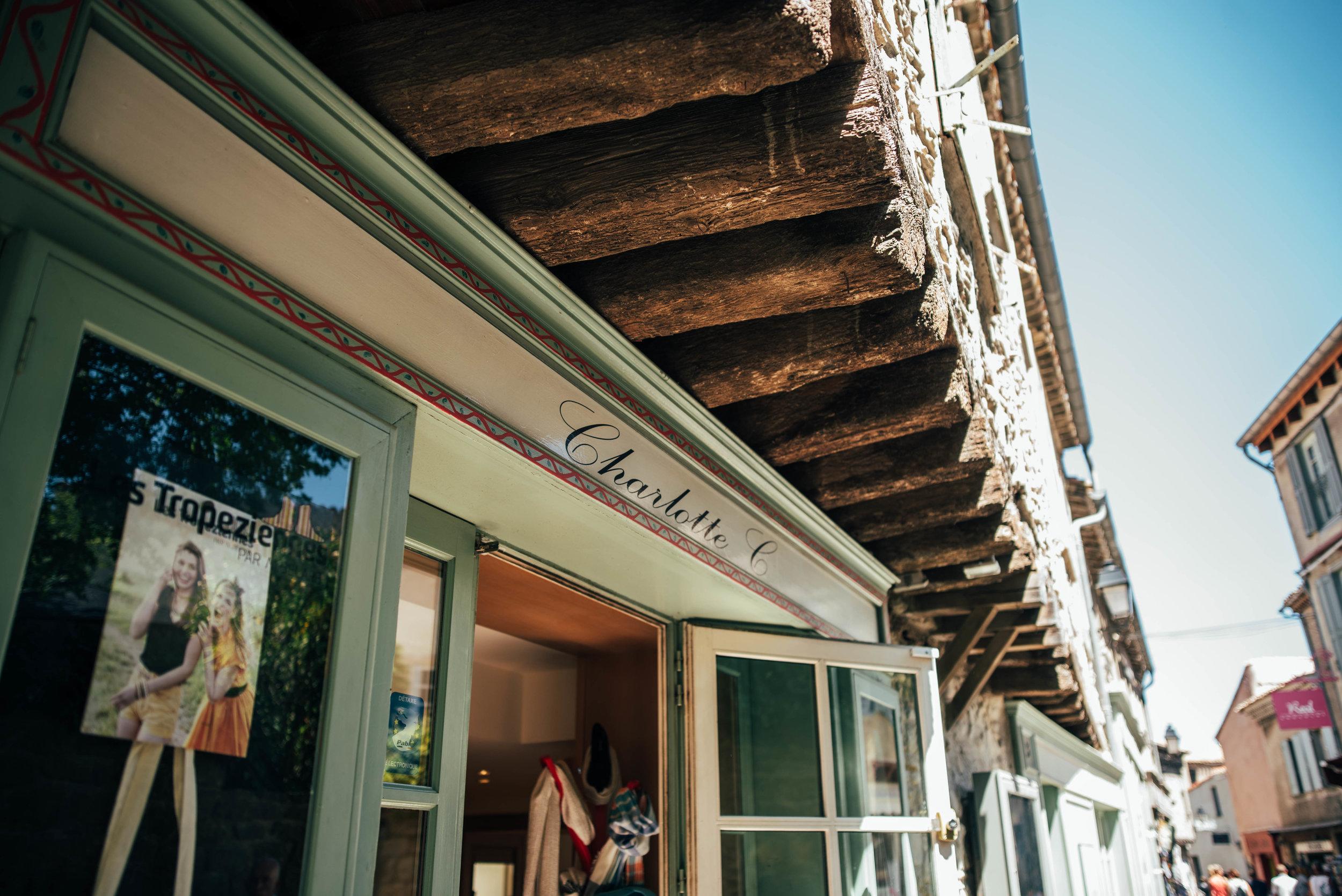 Shops Carcassonne Citadel France Essex UK Documentary Photographer