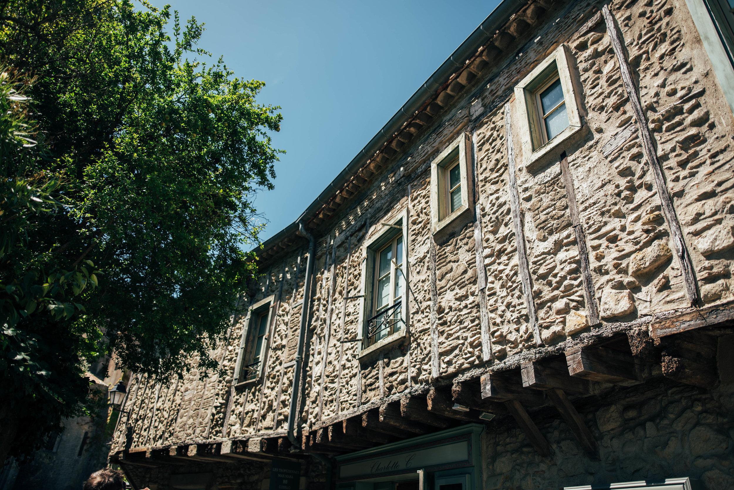 Shops inside Citadel Carcassonne France Essex UK Documentary Photographer