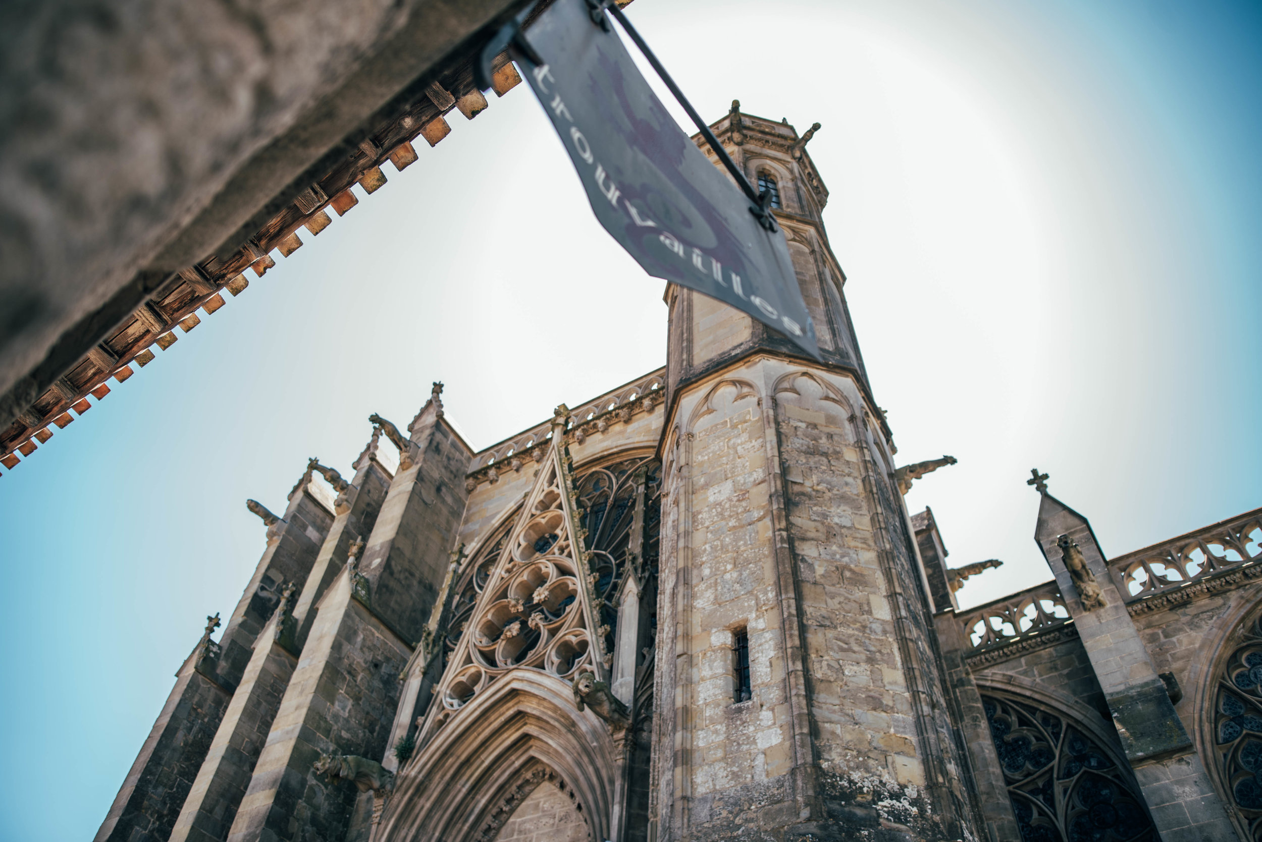 Basilique Saint Nazaire Carcassonne Citadel France Essex UK Documentary Photographer