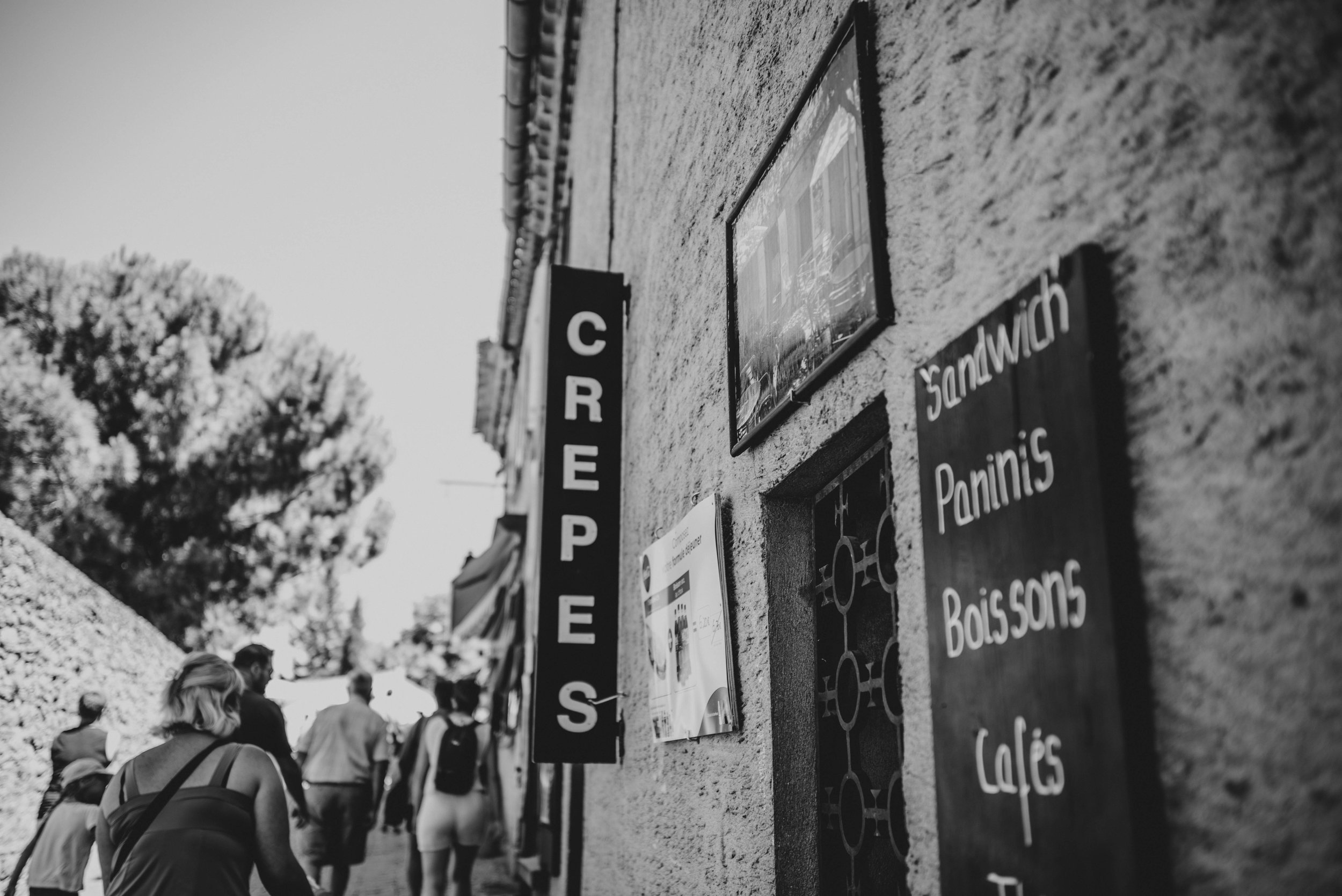 Crepes Citadel Carcassonne France Essex UK Documentary Photographer