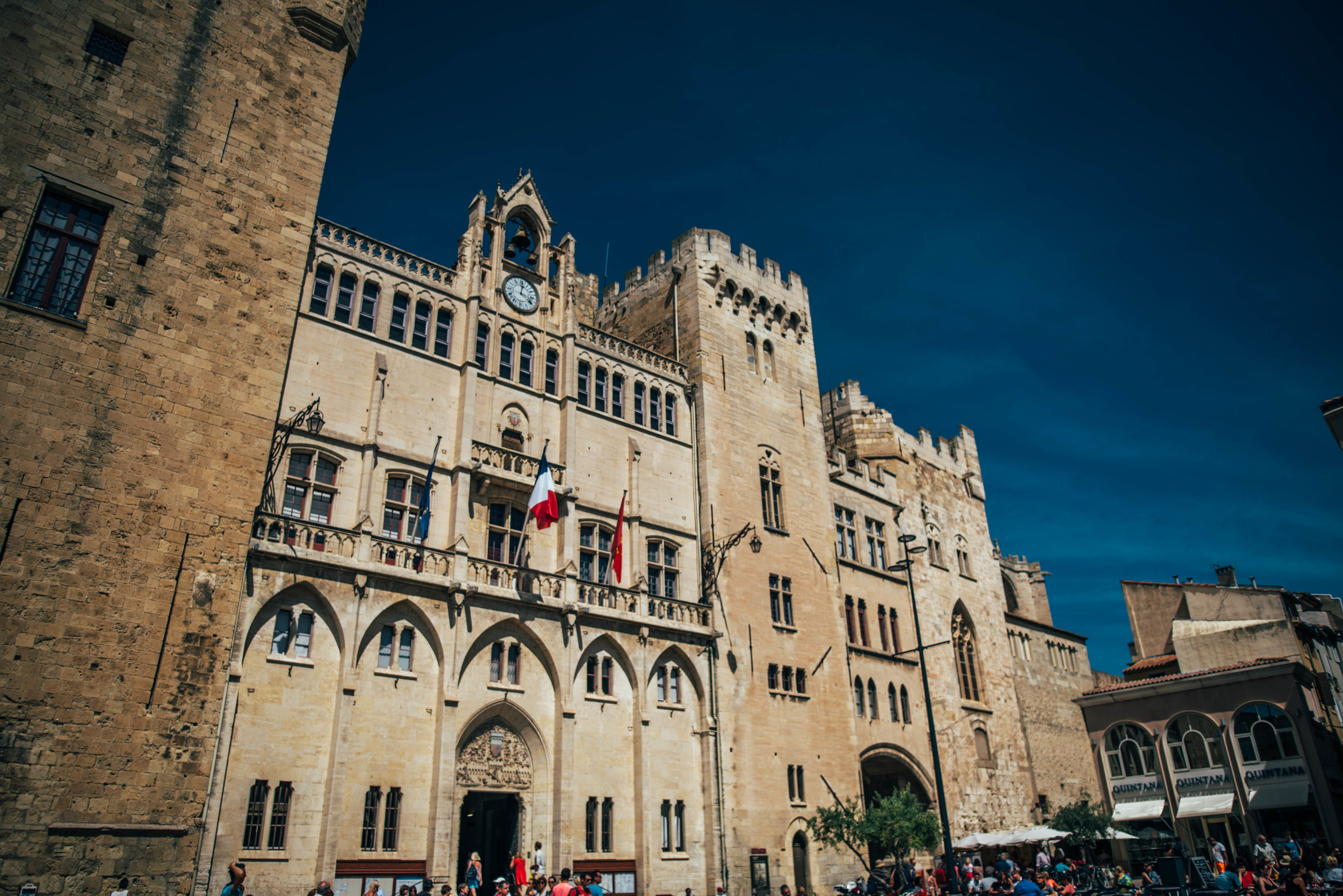Narbonne France town hall Essex UK Documentary Photographer